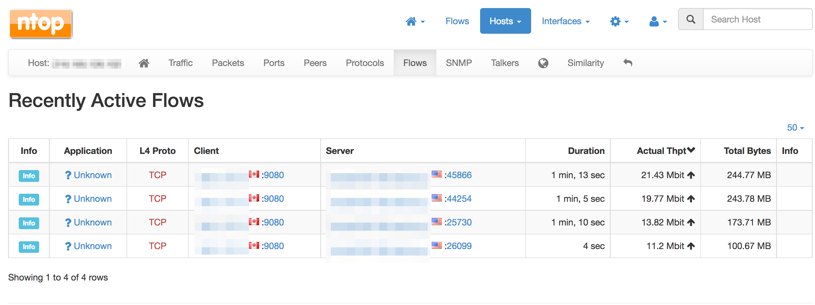 Using ELK and Ntopng to monitor data downloads